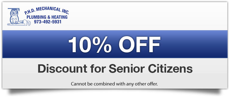 Discount for Senior Citizens
